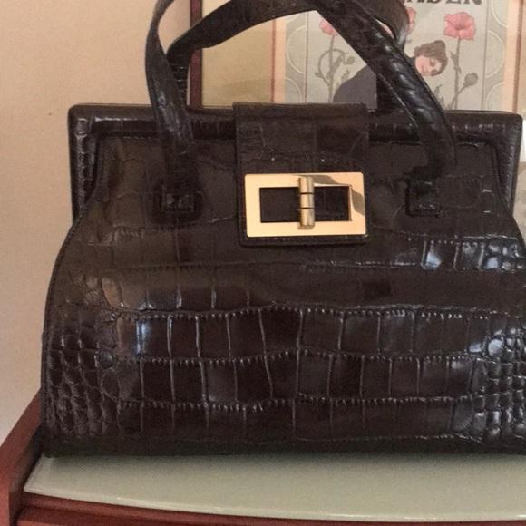 Talbots Handbags - Brown leather purse Talbots